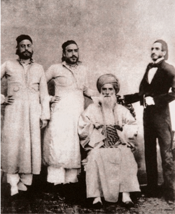 The Male Sassoon Clan 1850