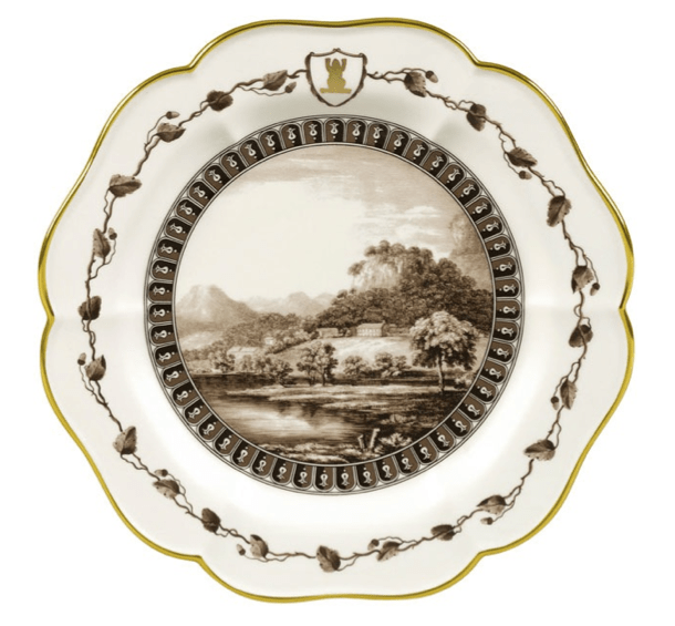 Wedgwood Frog Service Plate