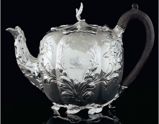 Paul Storr 1831 Silver Tea Pot