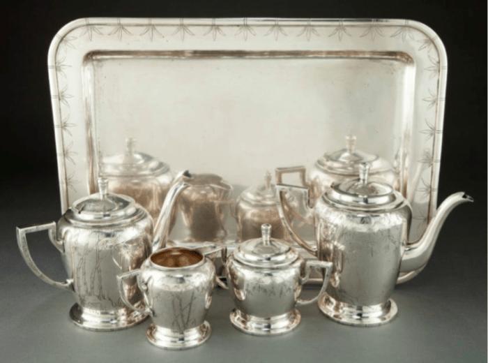 T'ou Sè Wè Chinese Export Silver