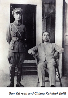 Sun Yat-sen and Chiang Kai-shek