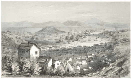 San Francisco Harbour 19th century