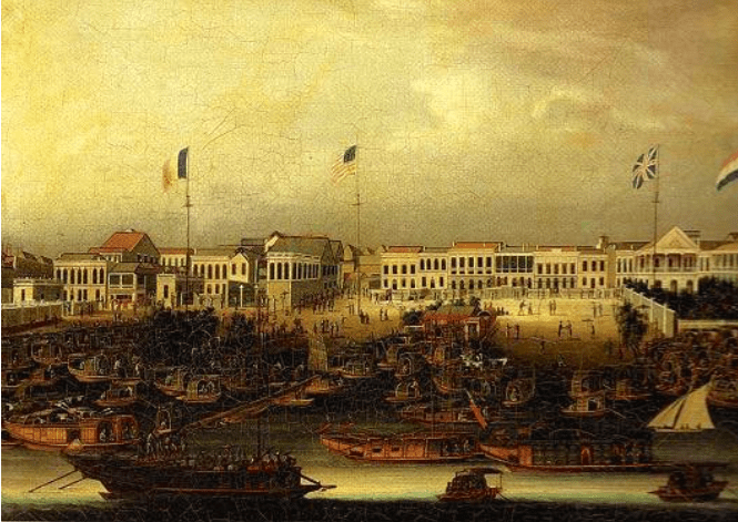 The Thirteen Factories Canton 1780