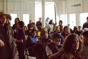 Audience at the Chinese Whispers: Golden Gate - Workshop Reading event on Feb. 5, 2012