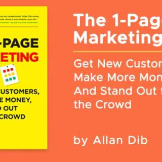 相心書庫(十九):《The 1-Page Marketing Plan: Get New Customers, Make More Money, And Stand Out From The Crowd》
