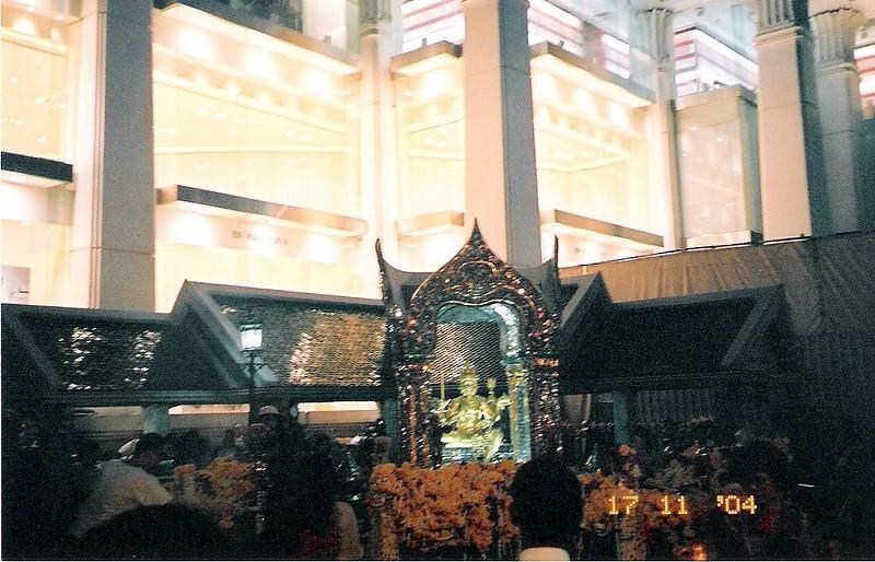 Erawan Shrine Bangkok 2004