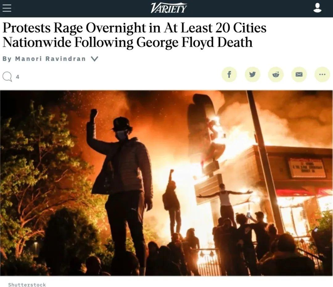 """""""我无法呼吸""""事件引发全美多地骚乱,空前危机下华人何去何从?"""