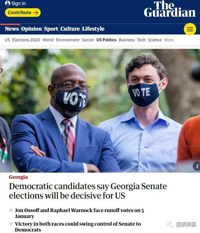 川普败选了,乔治亚的下一场大戏决定拜登未来几年执政