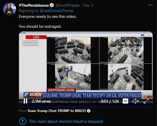 挺川人士说不相信主流媒体,看看你跟真相隔了几个地球村?