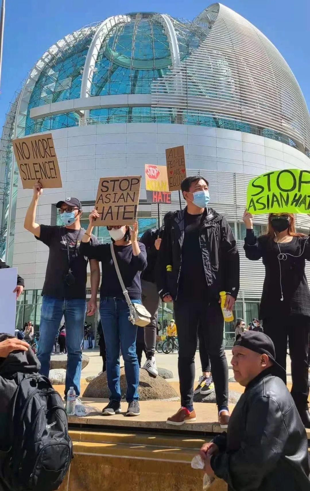 支持亚裔,反对仇恨!全美各地大集会 (图片+视频)