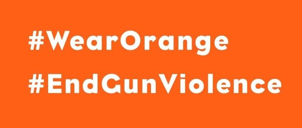 全美反枪支暴力日,为什么要穿橙色衣服,发出我们的声音?