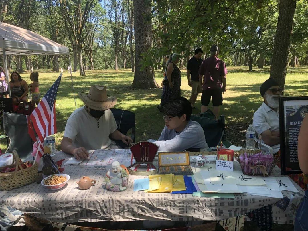 来美国二三十年,我刚过了一个特别的国庆节(多图)