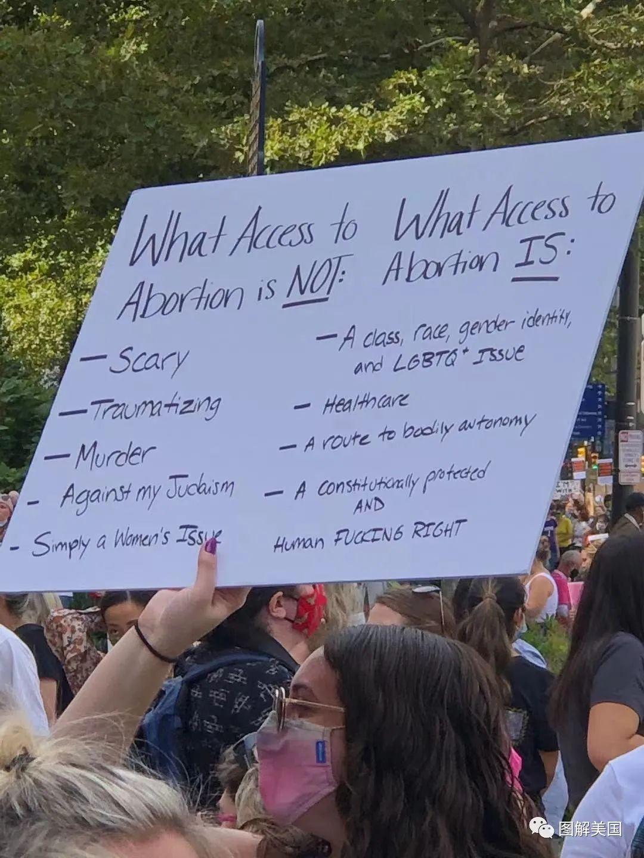 我的身体我做主!全美女性大游行,抗议德州恶法 (多图/视频)