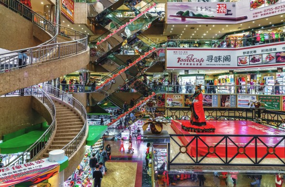 Chinese New Year shopping mall