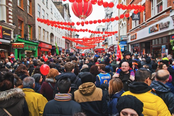 Chinese New Year celebration in London