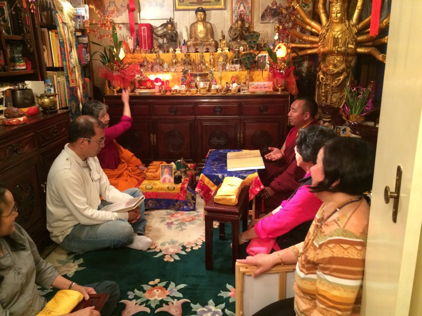 Discussions with Lama Lekshey
