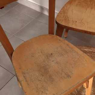 Lot de 4 chaises de bistrot