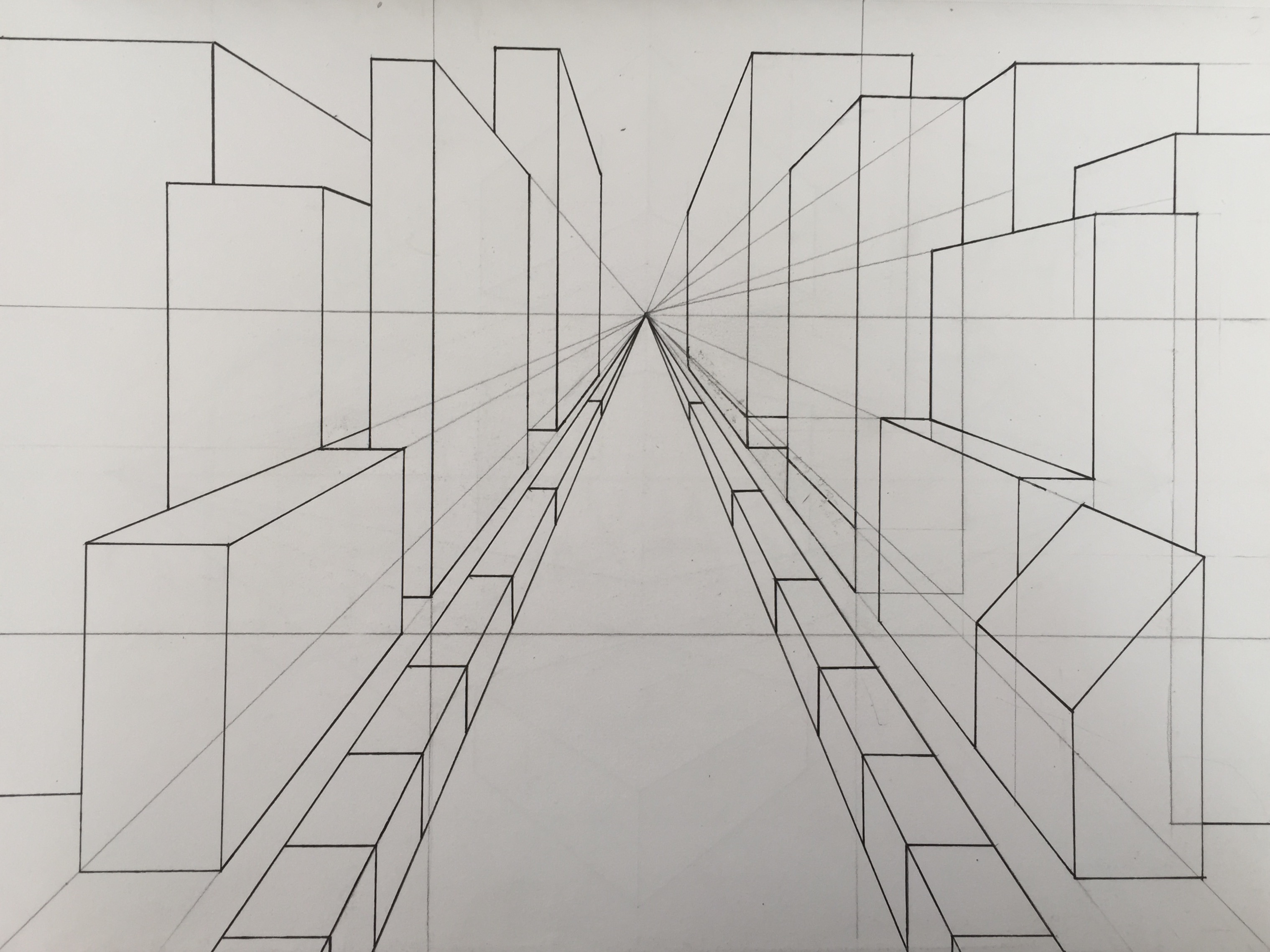 Project 7 One Amp Two Point Perspective