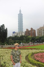 That is Taipei 101 for ya at the back.=)