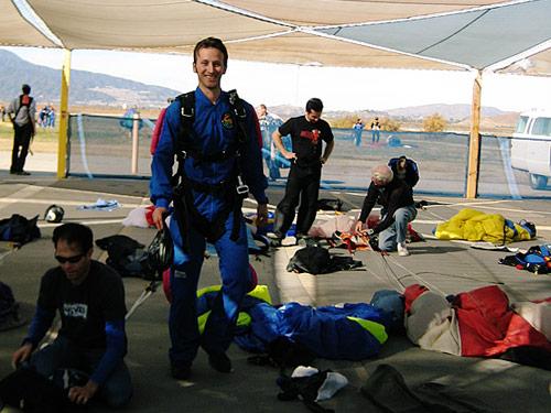Post Tandem Skydive