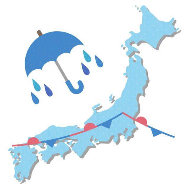 梅雨の語源や意味とは? 中国と関係がある? 梅雨はいつから始まるか