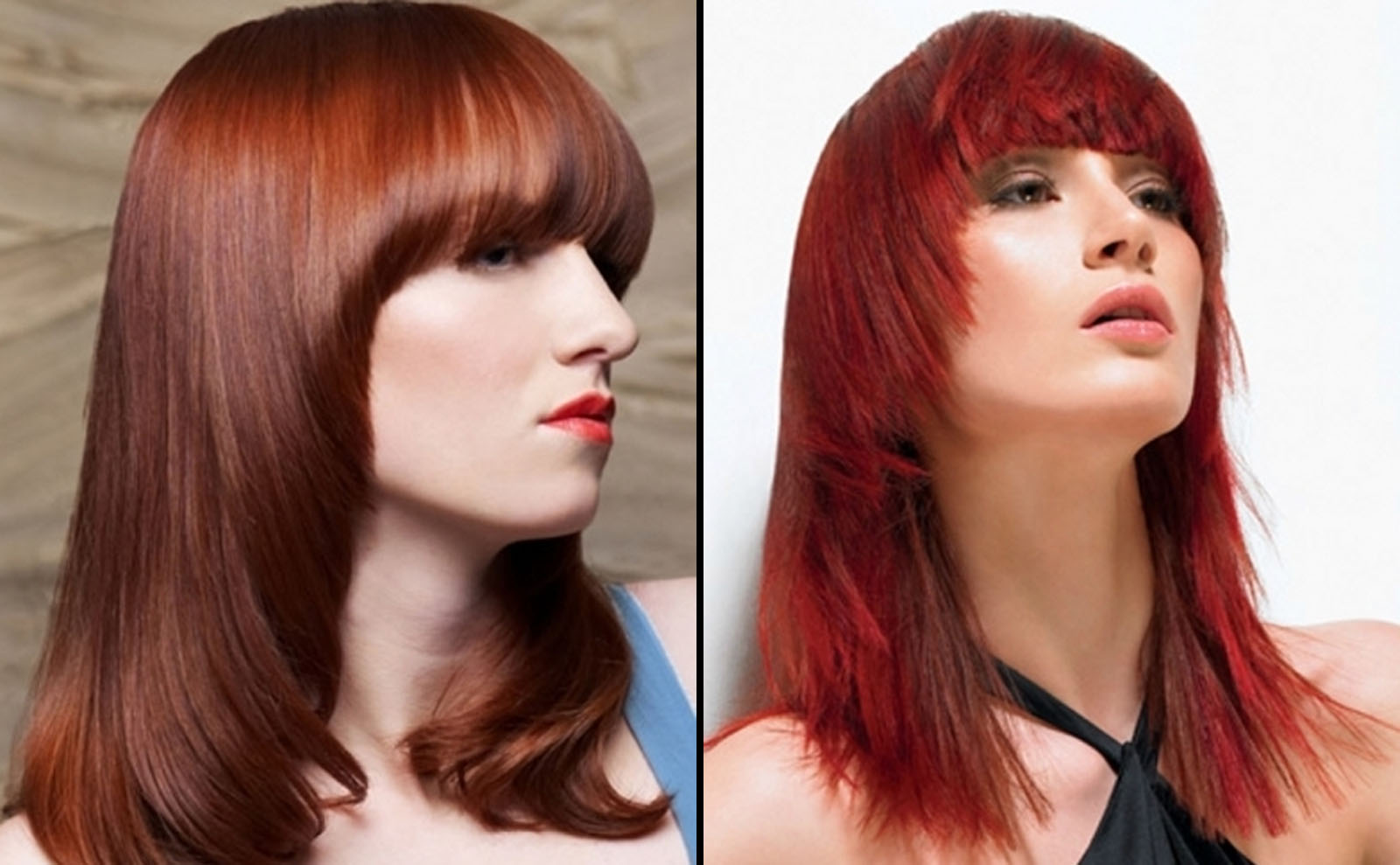 Red-Hair-Color-of-Long-hairstyles-with-Bangs-as-Nice-Hair-for-Women