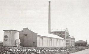 U & I Sugar Factory - Chinook, Montana