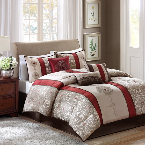 bedding-ensembles-red-grey