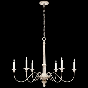 chandelier country belgian white 37w 27h studio by visual comfort