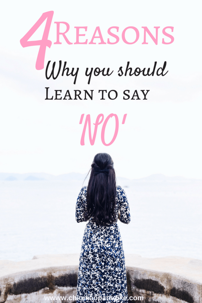 Here are four benefits of learning to say no and why you should try out sometime