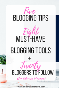 I share tips for blogging from my blogging journey and 20 bloggers who inspire me in the areas of productivity, christian living, personal finance and blogging