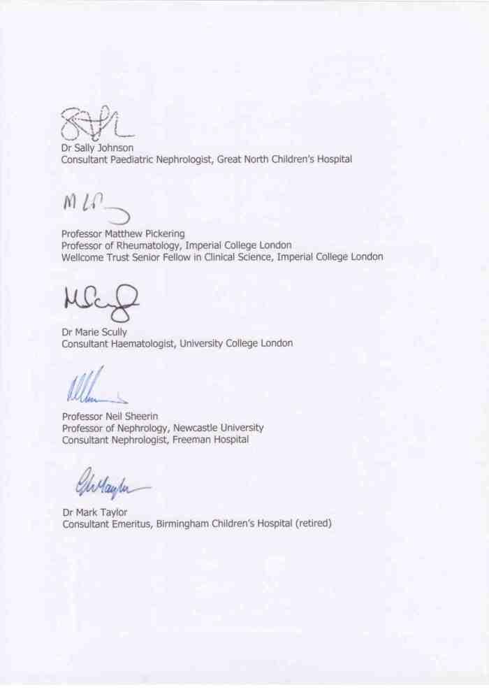 AHUS ACTION letter 04 Sept 20143