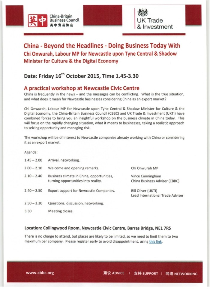 China- Beyond the Headlines - Doing Business Today with