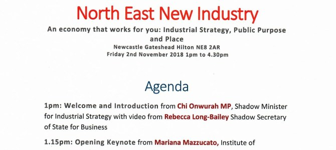 North East New Industry
