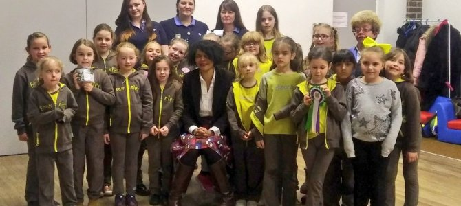 Girl Guides and Brownies
