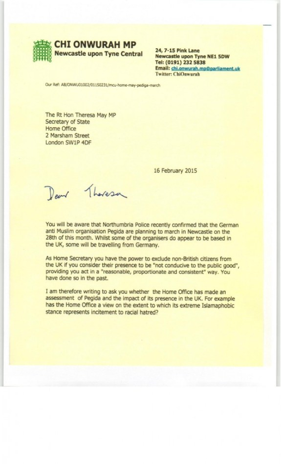 theresa May ltr re Pediga march 16 Feb 20150001