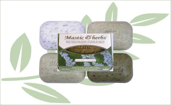 Natuurlijke zeep olijfolie en lavendel