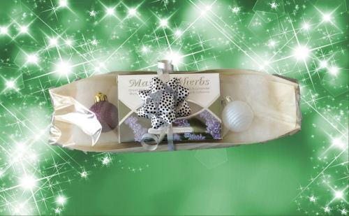 Kerstcadeau lavendel zeep