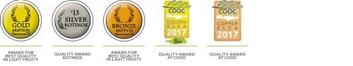 Cretan Olive Mill awards 2