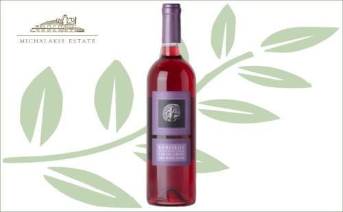 Michalakis vin de crete rose tafelwijn
