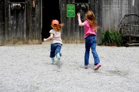 running-into-the-barn