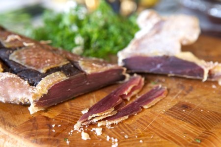 duck breast prosciutto