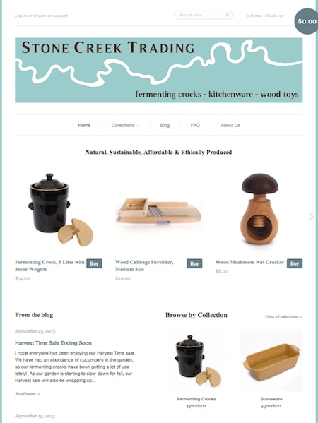 stone creek trading company