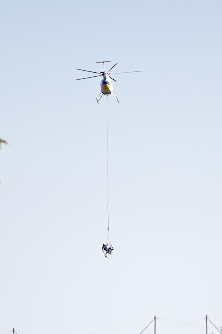 power line work with helicopters 2