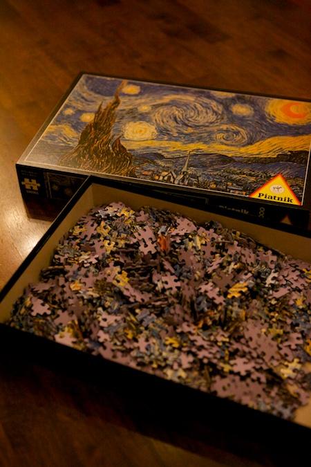 van gogh puzzle