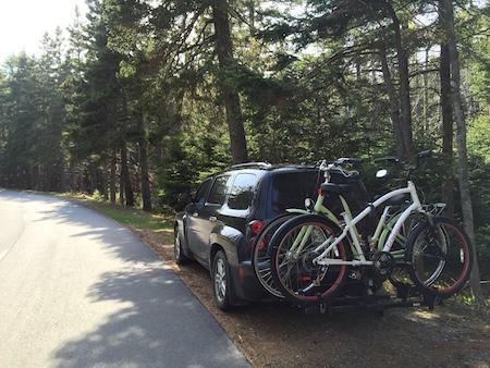 biking in Acadia 1