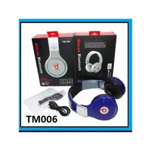 bluetooth stereo headset wireless bluetooth headphone TM-006