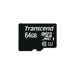 64GB TRANSCEND MEMORY CARD
