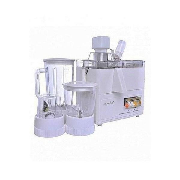 Master Chef MC-BL6776J 4-In-1 Juicer, Blender, Grinder And Mill