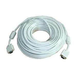 30-Meter VGA Cable - High Standard, High Resolution HD15 VGA Cable